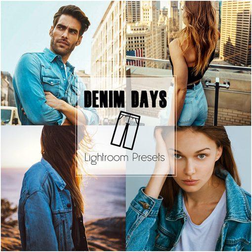 DENIM DAYS_Lightroom Preset Pack