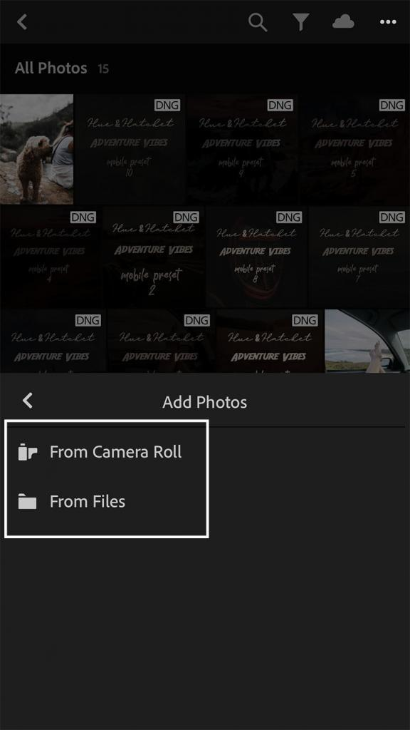 Install Presets on Mobile
