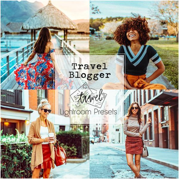 TRAVEL BLOGGER_Lightroom Preset Pack