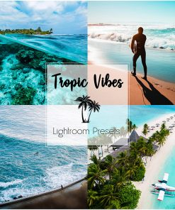 TROPIC VIBES_Lightroom Preset Pack
