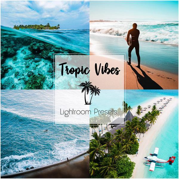 TROPIC VIBES_Lightroom Preset Pack