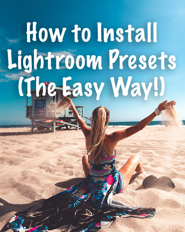 how to install lightroom presets (Easy Tutorial)