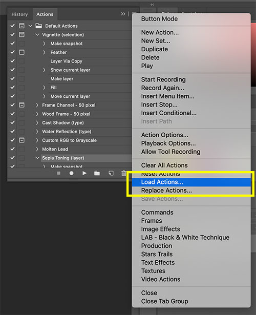 Install Photoshop Actions_2