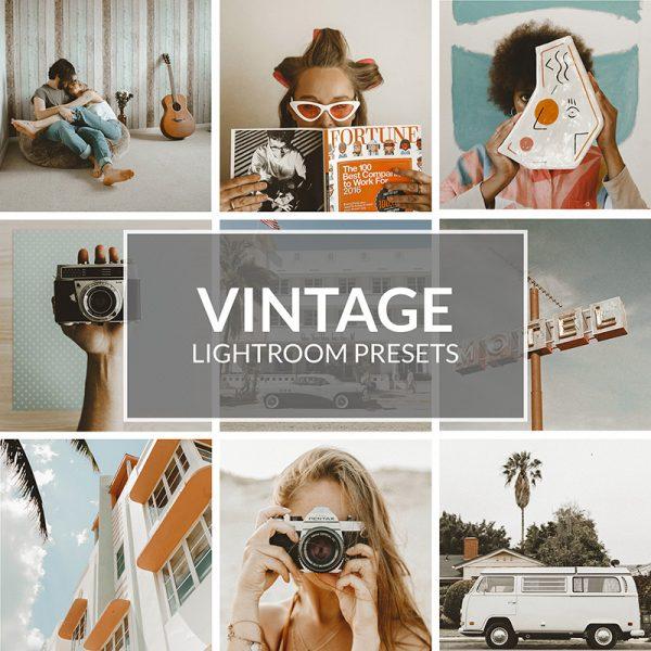 Vintage-Lightroom-Presets