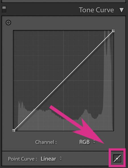 preset adjustment tone curve